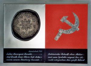 Lieber Hans-Gerd-Hunold (7), 55x75 cm, Mischtechnik, 1996