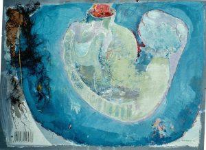 80x60 cm Gouache, Tang a. Papier a. Holz 2013